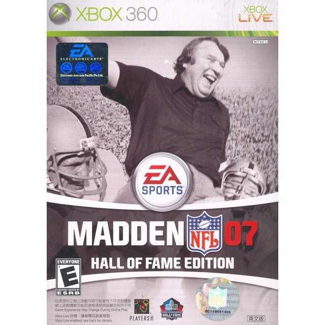 Madden NFL 07 - Hall of Fame Edition