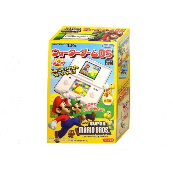 New Super Mario Bros. Water Game DS