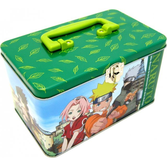Naruto Metal Carrying Case (green)