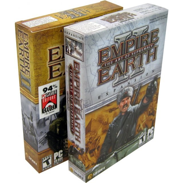 Empire Earth II + Empire Earth II: The Art of Supremacy (Expansion Pack) Bundle
