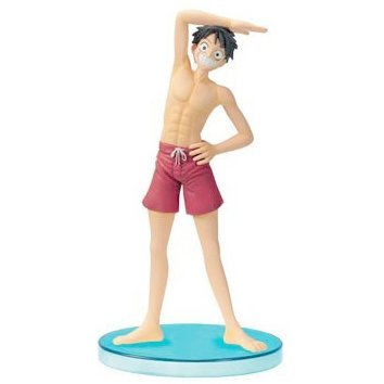 From TV Animation One Piece Pre-painted PVC Figure DX - Luffy