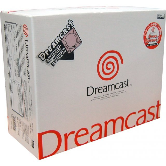 Dreamcast Console - D-Direct Pearl Pink Special Edition (Japanese version)