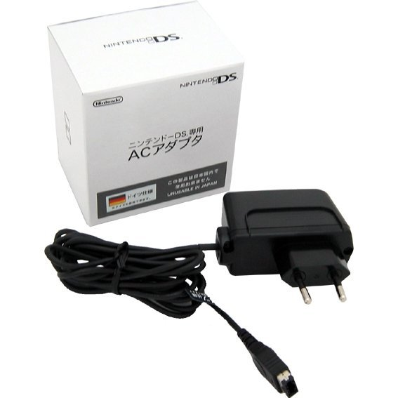 Nintendo DS AC Power Adapter (220V/Europe)