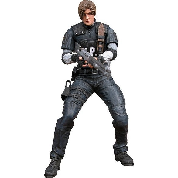 Resident Evil 4 Action Figure: Leon S. Kennedy (R.P.D. Uniform)
