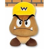 Super Mario 64 DS Plush Doll: Wario Kuribo