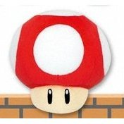 Super Mario 64 DS Plush Doll: Power Mushroom
