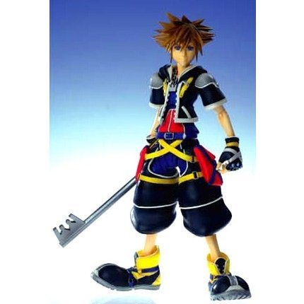 Kingdom Hearts II Play Arts Action Figure - No.1 Sora (Re-run)