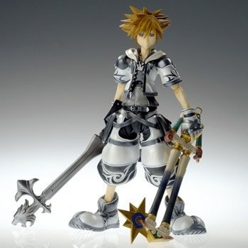Kingdom Hearts II Play Arts Action Figure - Special Edition Sora Final Form