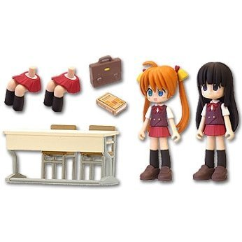 Magister Negi Magi Figures: School Set A