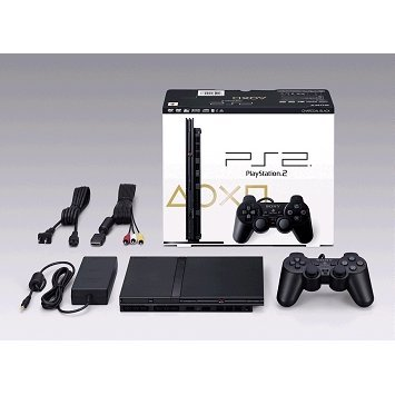 PlayStation2 Console Charcoal Black (SCPH-77000CB)