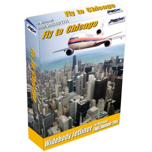 Fly to Chicago (Flight Simulator Addon)