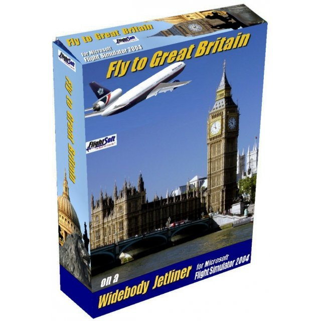 Fly to Great Britain (Flight Simulator Addon)