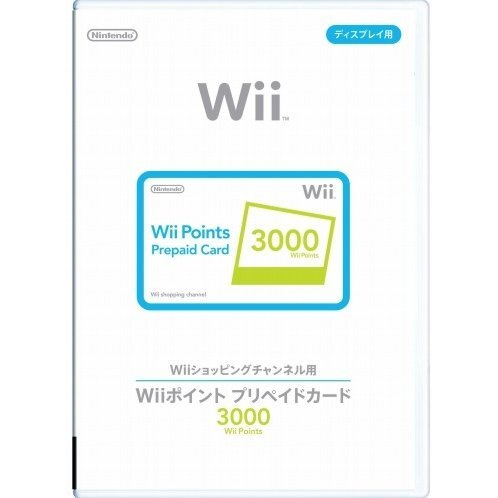 Wii Points Prepaid Card (3000 Wii Points / for Japanese network only)