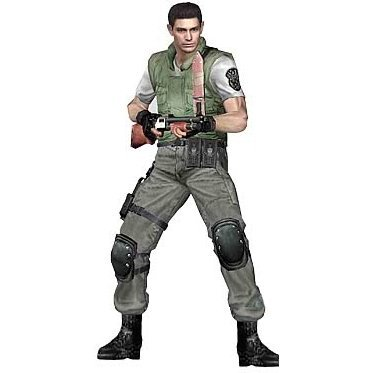 Resident Evil 10th Anniversary Action Figure: Chris Redfield