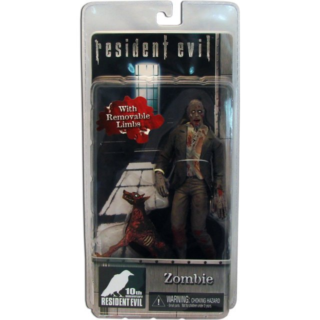 Resident Evil 10th Anniversary Action Figure: Zombie With Removable Limbs