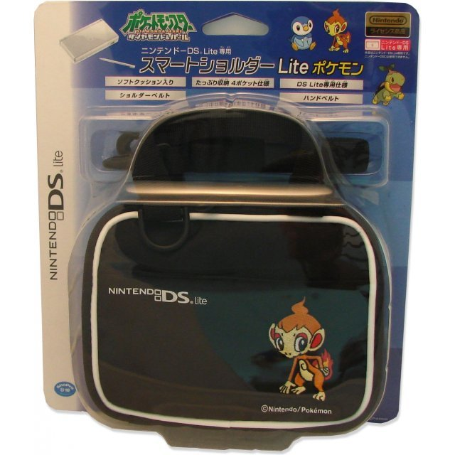 Mobile Bag DS Lite Pokemon: Hikozaru (black)