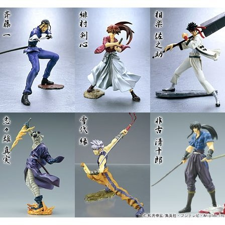 Rurouni Kenshin Best Selection Figure Collection