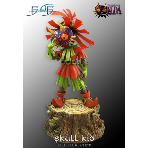 The Legend of Zelda - Skull Kid Collectible Statue