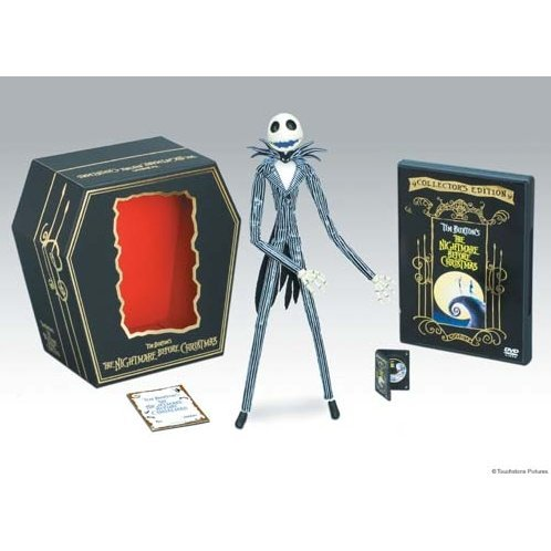 The Nightmare Before Christmas Collector's Edition Premium Box [DVD+Figure Limited Edition]