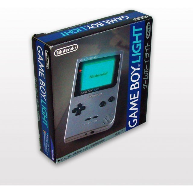 Game Boy Light Console - Silver Edition
