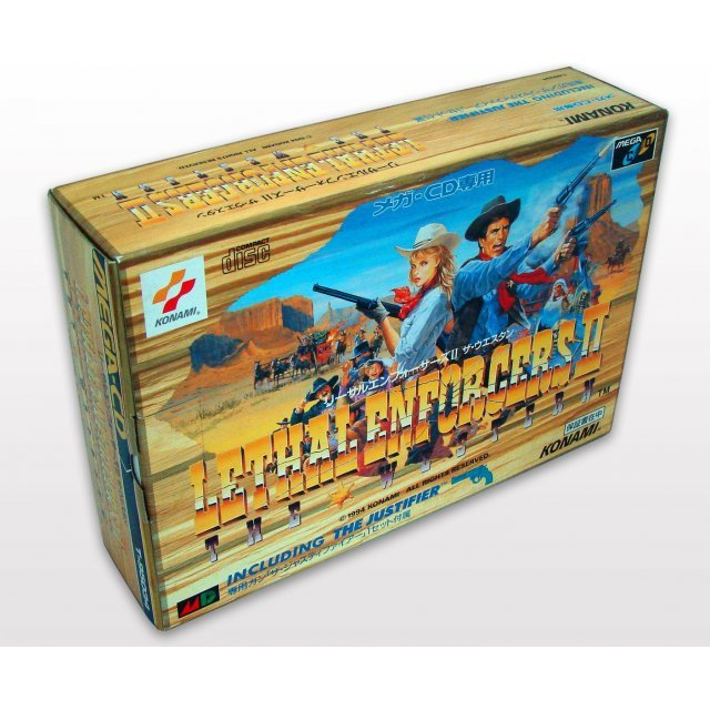 Lethal Enforcers II: The Western [Box Set /w lightgun]