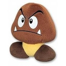 Super Mario Bros. Plush Doll: Goomba (6 Inch)