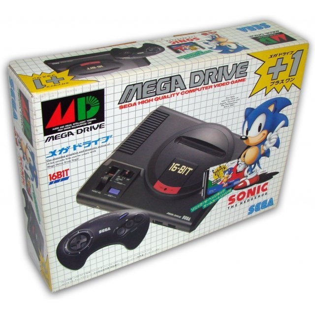 Mega Drive Console [Sonic the Hedgehog Pack]