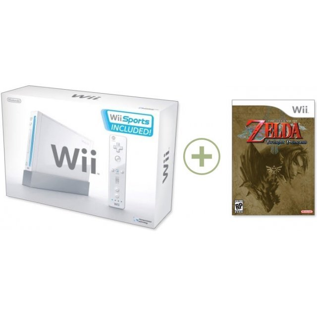 Nintendo Wii (incl. Wii Sports) + The Legend of Zelda: Twilight Princess