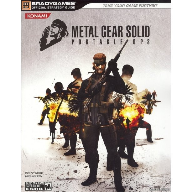 Metal Gear Solid Portable Ops Official Strategy Guide