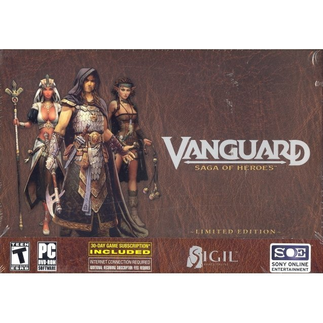Vanguard: Saga of Heroes Online Collector's Guild Edition