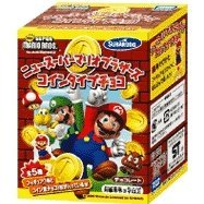 Super Mario Bros. Candy Toy - Coin Cholocate
