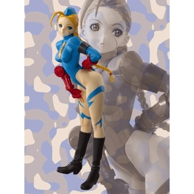 Street Fighter Zero 3 Pre-painted PVC Figure - Cammy