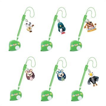 Animal Crossing Screen Cleaner Phone Strap Gashapon (Theater Version)