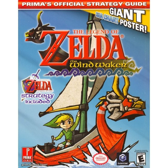 The Legend of Zelda: The Wind Waker Prima's Official Strategy Guide
