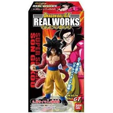Dragon Ball GT Real Works Super Saiyan 4 Son Gokou Candy Toy