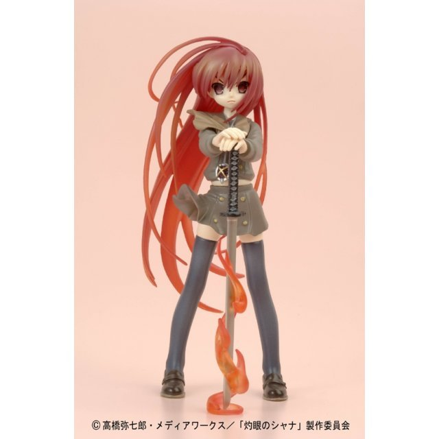 Shakugan no Shana Pre-painted PVC Figure - Shana (Flaming Hair)