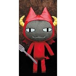 Doko Demo Issyo Fun Collection Plush Doll: Devil