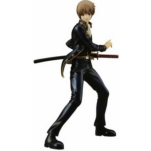 Gintama GEM Series 1/8 Scale Pre-Painted PVC Figure: Okita Sogo (Re-run)