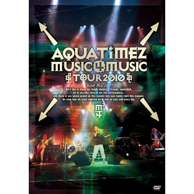 Aqua Timez Music 4 Music tour 2010 [Limited Edition]