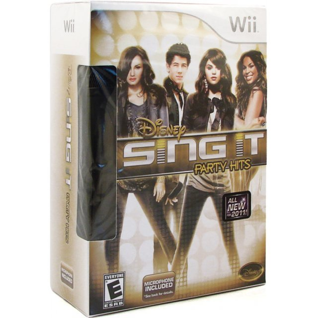 Disney Sing It: Party Hits (w/ Microphone Bundle)