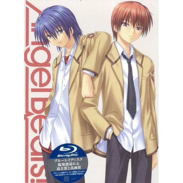 Angel Beats Vol.3 [Blu-ray+CD Limited Edition]