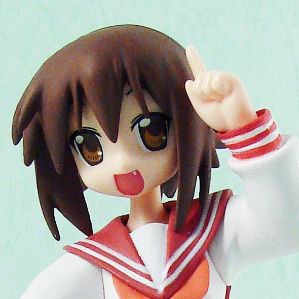 Lucky Star Figure Vol.3 Non Scale Pre-Painted Figure:  Kusakabe Misao