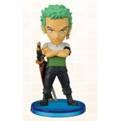 One Piece World Collectable Pre-Painted PVC Figure vol.3: TV018 - Zoro