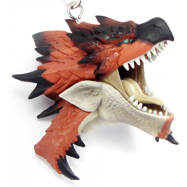 Banpresto Monster Hunter Head Key Chain: Rioreus