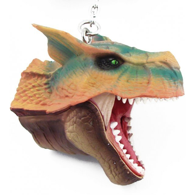 Banpresto Monster Hunter Head Key Chain: Tiger Rex