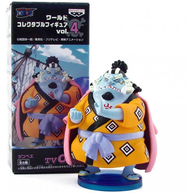 One Piece World Collectable Pre-Painted PVC Figure vol.4: TV026 - Jinbei