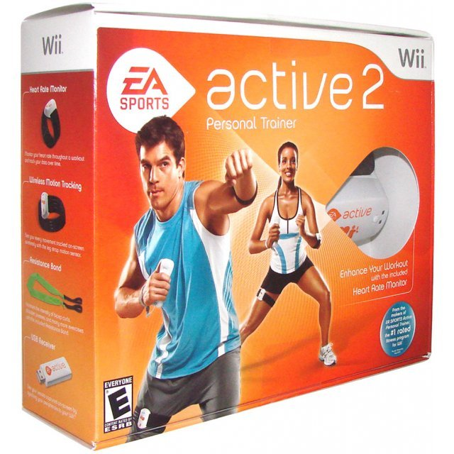 ea sports active 2 bundle. Black Bedroom Furniture Sets. Home Design Ideas