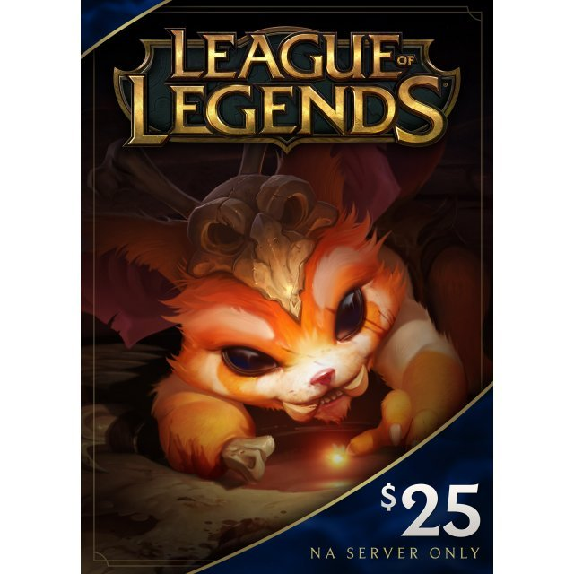 League of Legends Gift Card USD 25