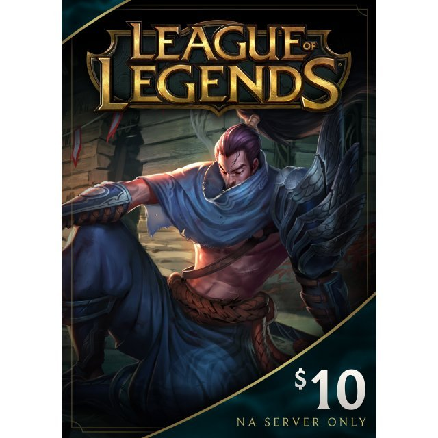 League of Legends Gift Card USD 10