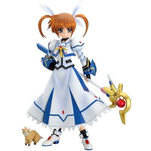 Magical Girl Lyrical Nanoha The Movie 1st 1/8 Scale Pre-Painted PVC Figure: Actsta Takamachi Nanoha (Good Smile Version)